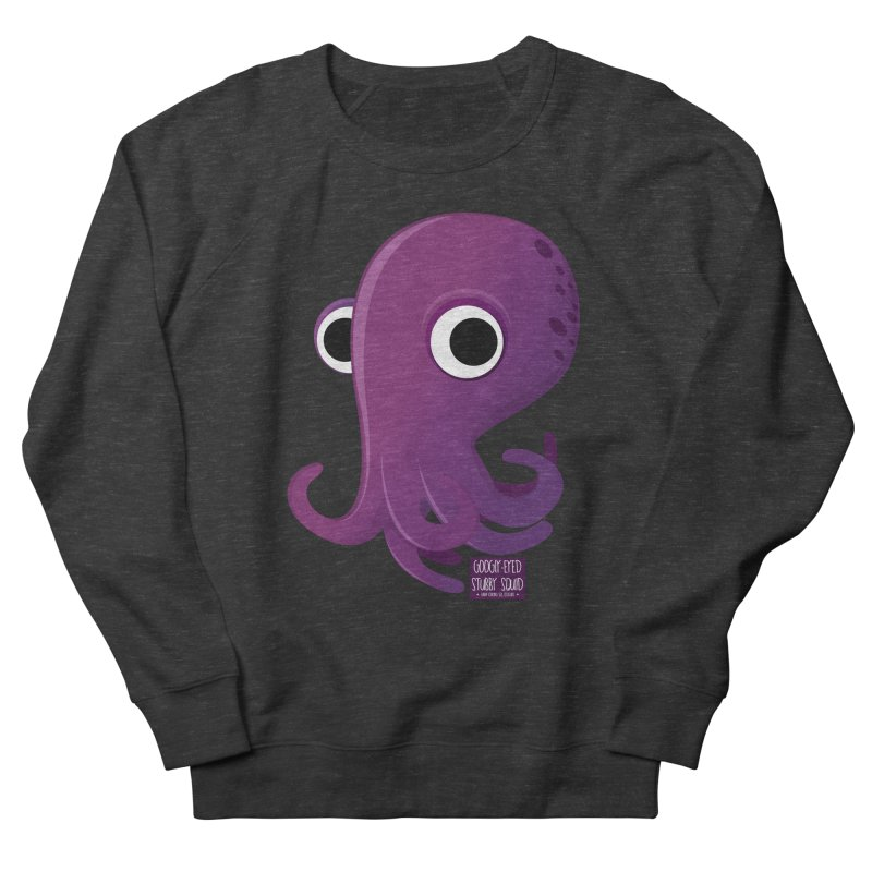 Googly eyed stubby squid Men's Sweatshirt by sadhustudio's Artist Shop