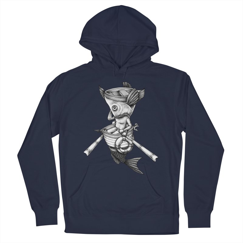 fishbrella Men's Pullover Hoody by Sadi Tekin's Shop