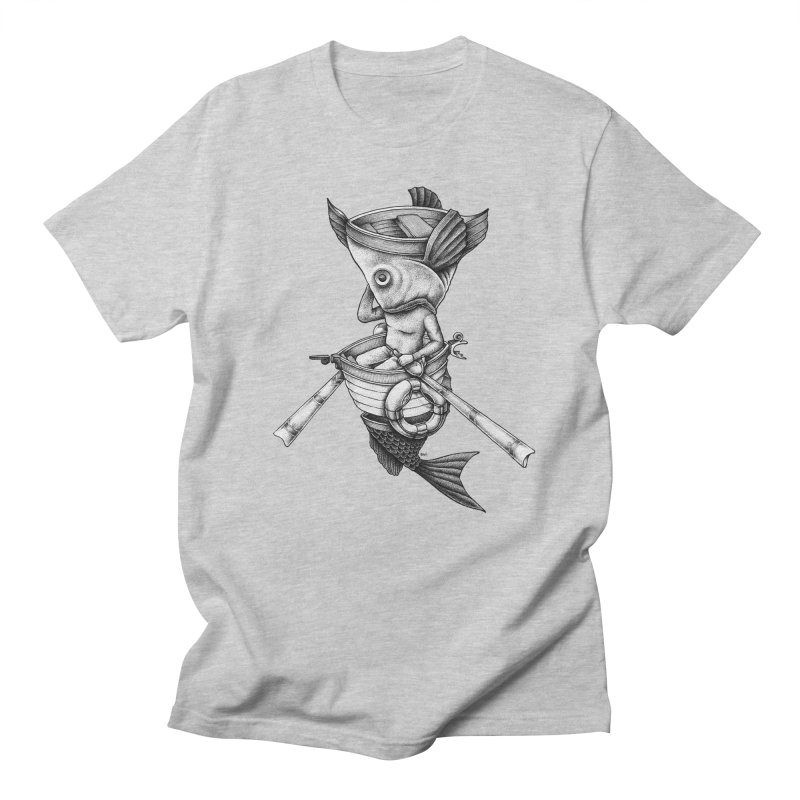 fishbrella Men's T-Shirt by Sadi Tekin's Shop