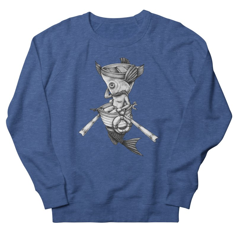fishbrella Men's Sweatshirt by Sadi Tekin's Shop