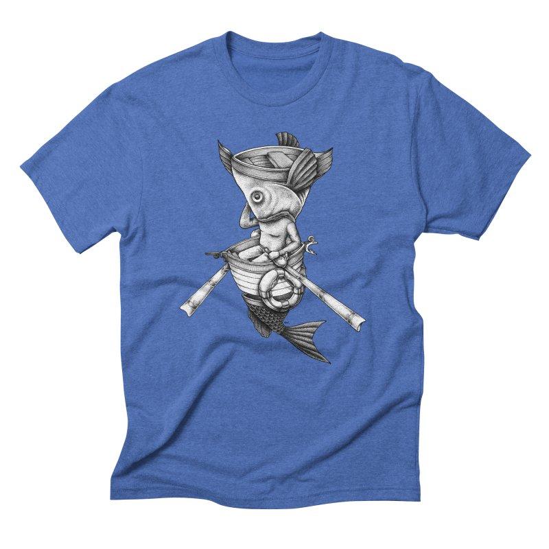 fishbrella Men's T-Shirt by Sadi Tekin's Shop
