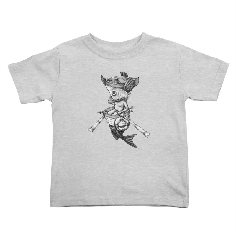 fishbrella Kids Toddler T-Shirt by Sadi Tekin's Shop