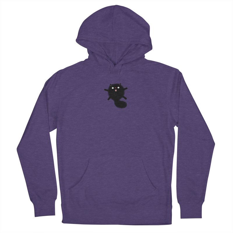 Little Black  Women's French Terry Pullover Hoody by Sadi Tekin's Shop