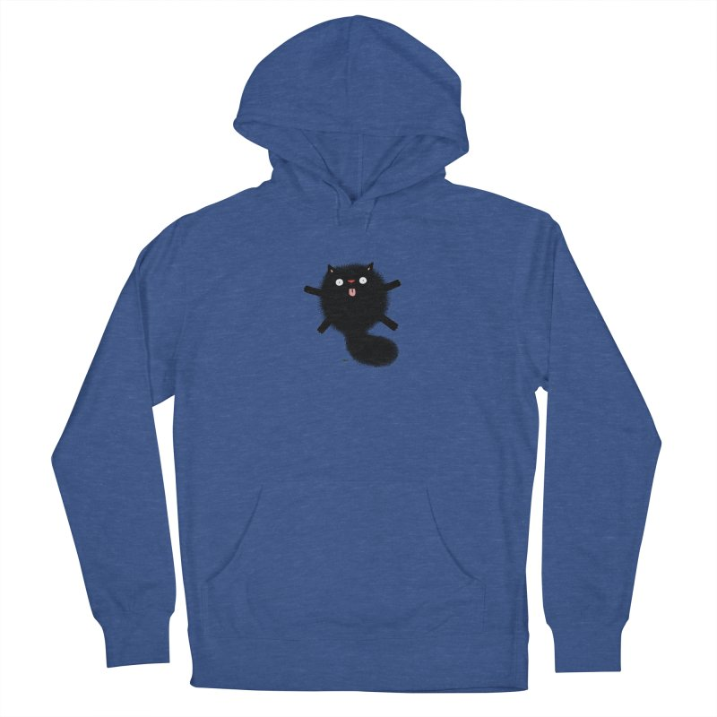 Little Black  Men's French Terry Pullover Hoody by Sadi Tekin's Shop