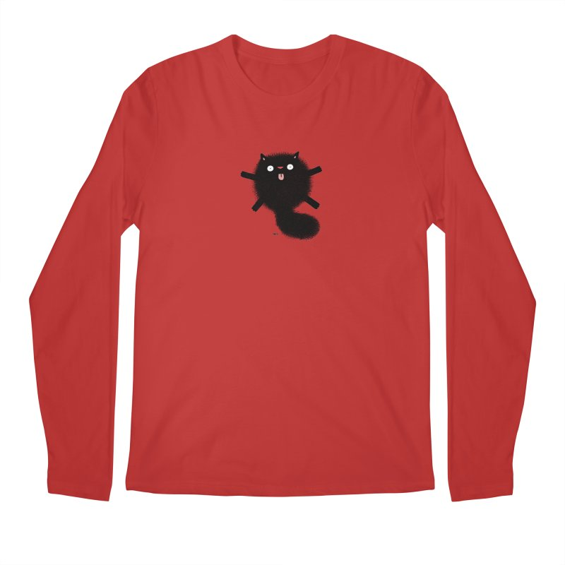 Little Black  Men's Regular Longsleeve T-Shirt by Sadi Tekin's Shop