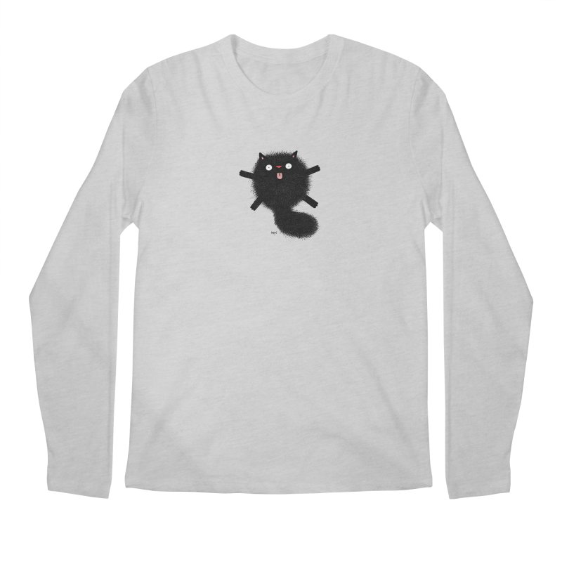 Little Black  Men's Regular Longsleeve T-Shirt by Sadi Tekin's Shop