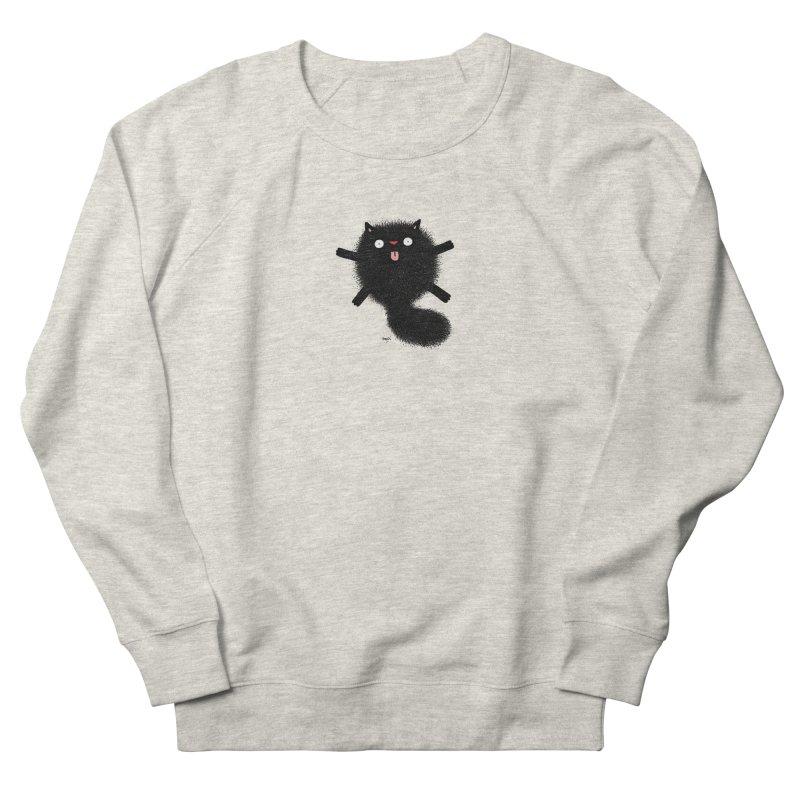 Little Black  Women's French Terry Sweatshirt by Sadi Tekin's Shop