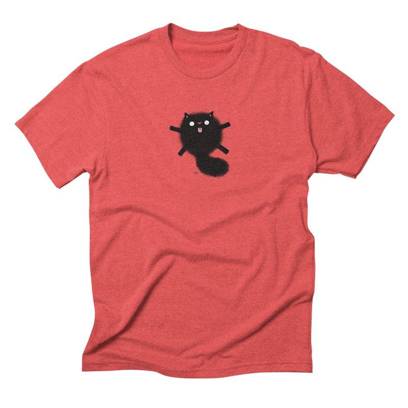 Little Black  Men's Triblend T-Shirt by Sadi Tekin's Shop