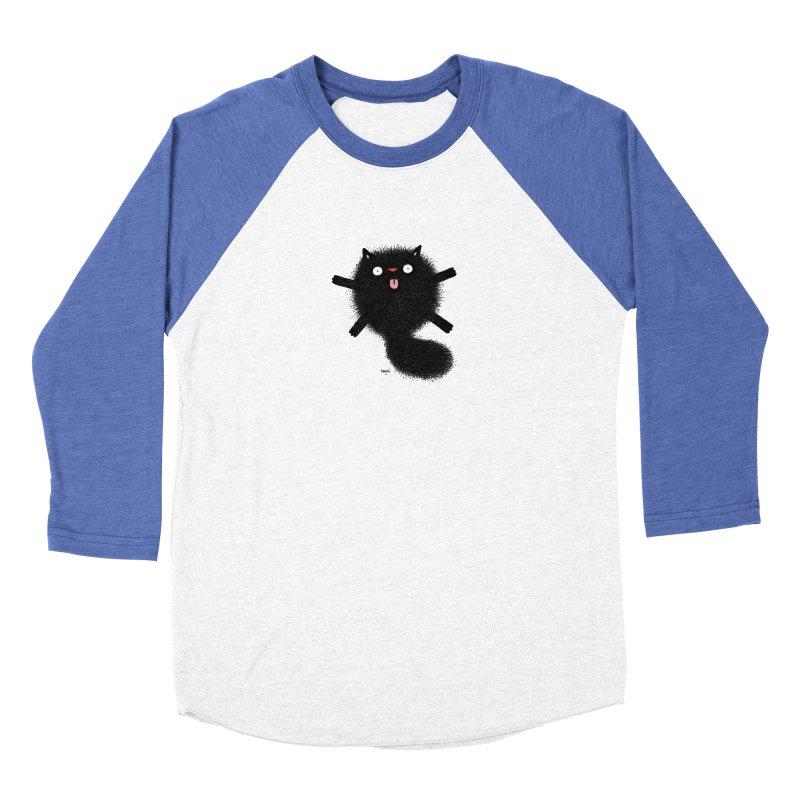 Little Black  Women's Baseball Triblend Longsleeve T-Shirt by Sadi Tekin's Shop