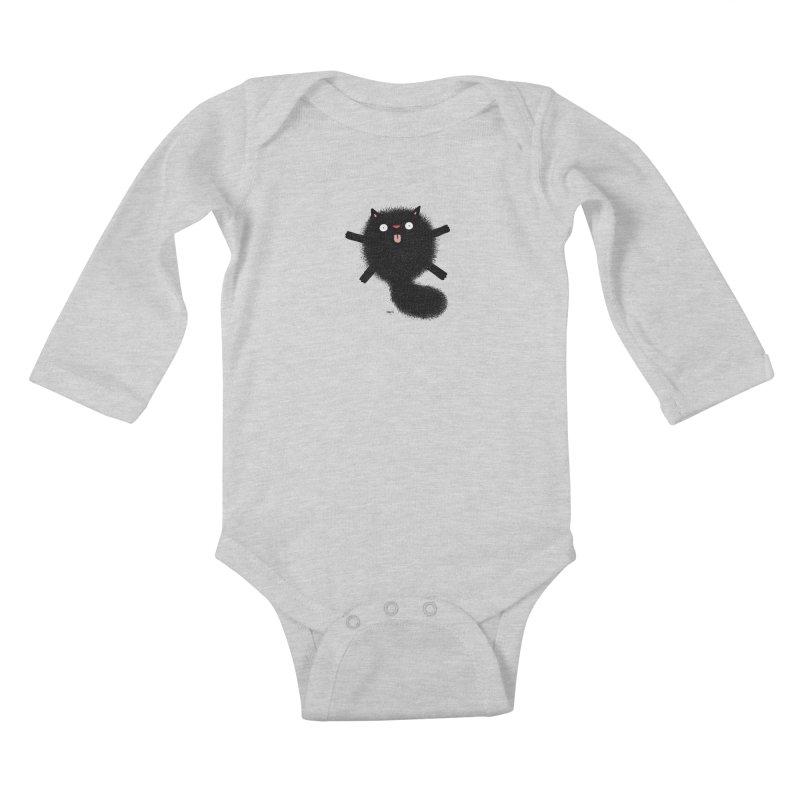 Little Black  Kids Baby Longsleeve Bodysuit by Sadi Tekin's Shop