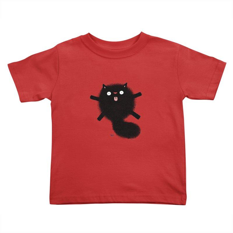Little Black  Kids Toddler T-Shirt by Sadi Tekin's Shop