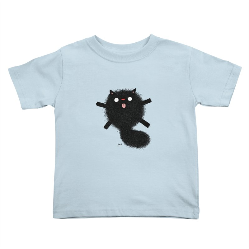 Little Black  Kids Toddler T-Shirt by Sadi Tekin's Shop