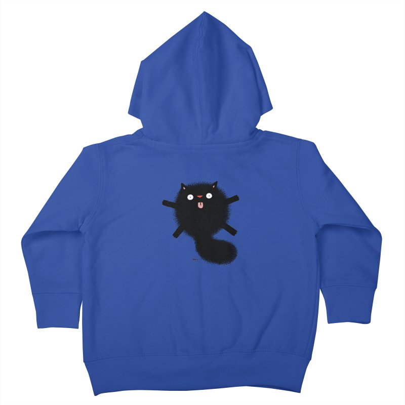 Little Black  Kids Toddler Zip-Up Hoody by Sadi Tekin's Shop