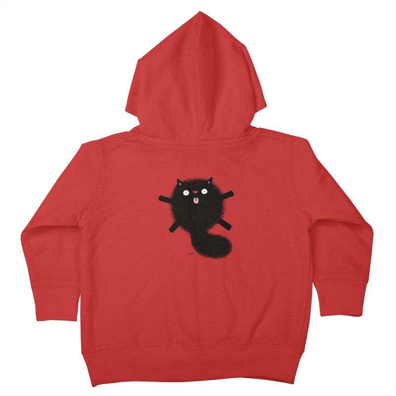 Little Black  Kids Toddler Zip-Up Hoody by Sadi Tekin's Shop