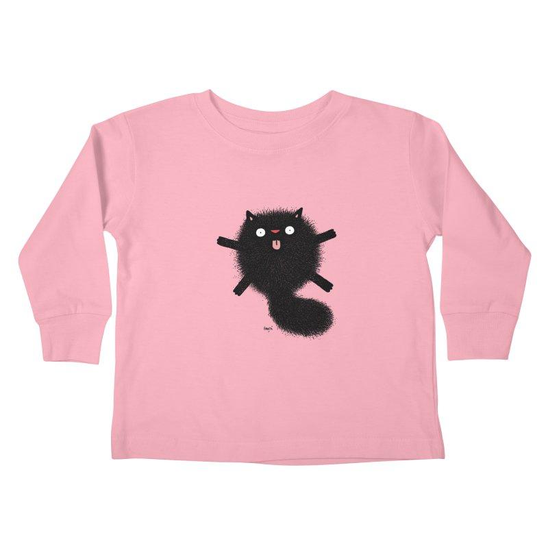Little Black  Kids Toddler Longsleeve T-Shirt by Sadi Tekin's Shop