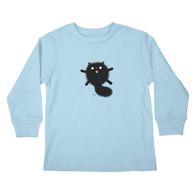 Little Black  Kids Longsleeve T-Shirt by Sadi Tekin's Shop
