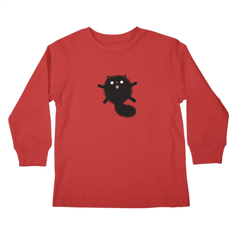 Little Black  Kids Longsleeve T-Shirt by Sadi Tekin's Shop