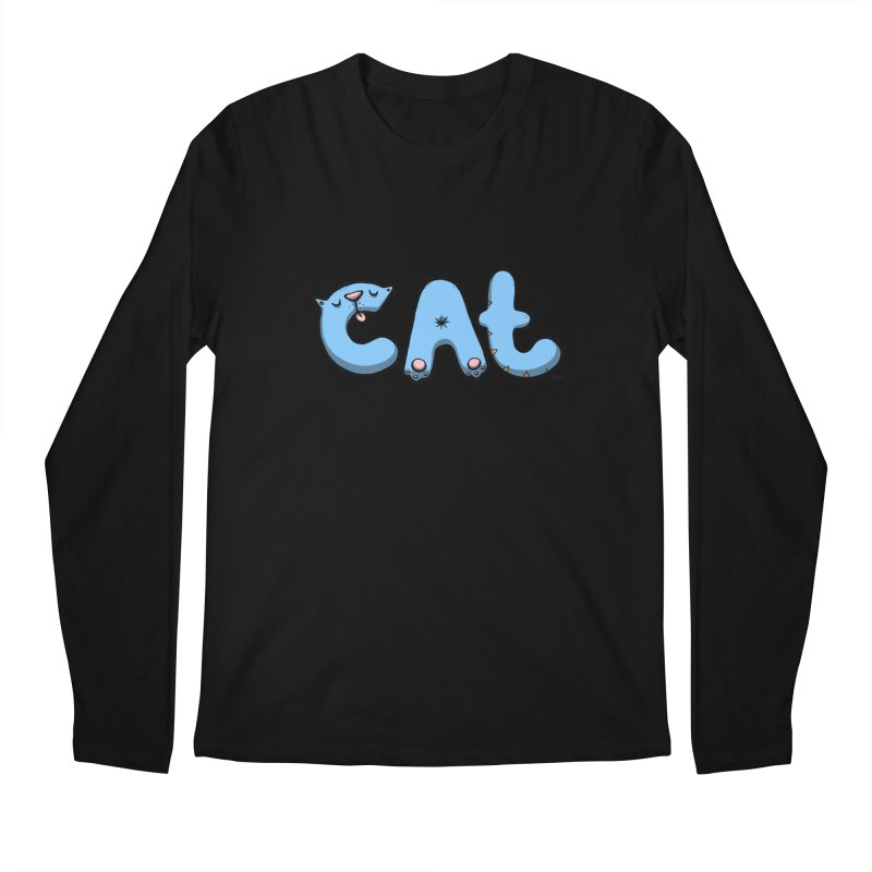 C.A.T. Men's Regular Longsleeve T-Shirt by Sadi Tekin's Shop