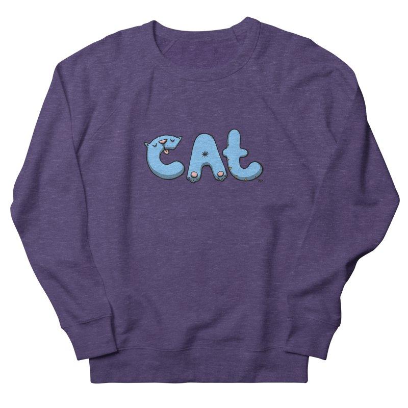 C.A.T. Men's French Terry Sweatshirt by Sadi Tekin's Shop