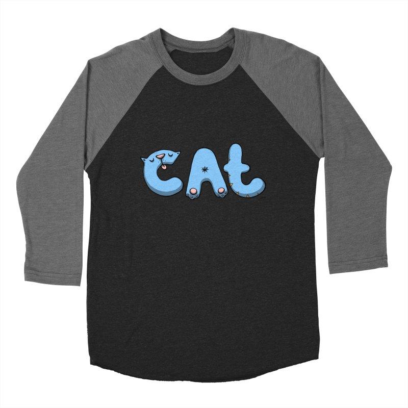 C.A.T. Women's Baseball Triblend Longsleeve T-Shirt by Sadi Tekin's Shop