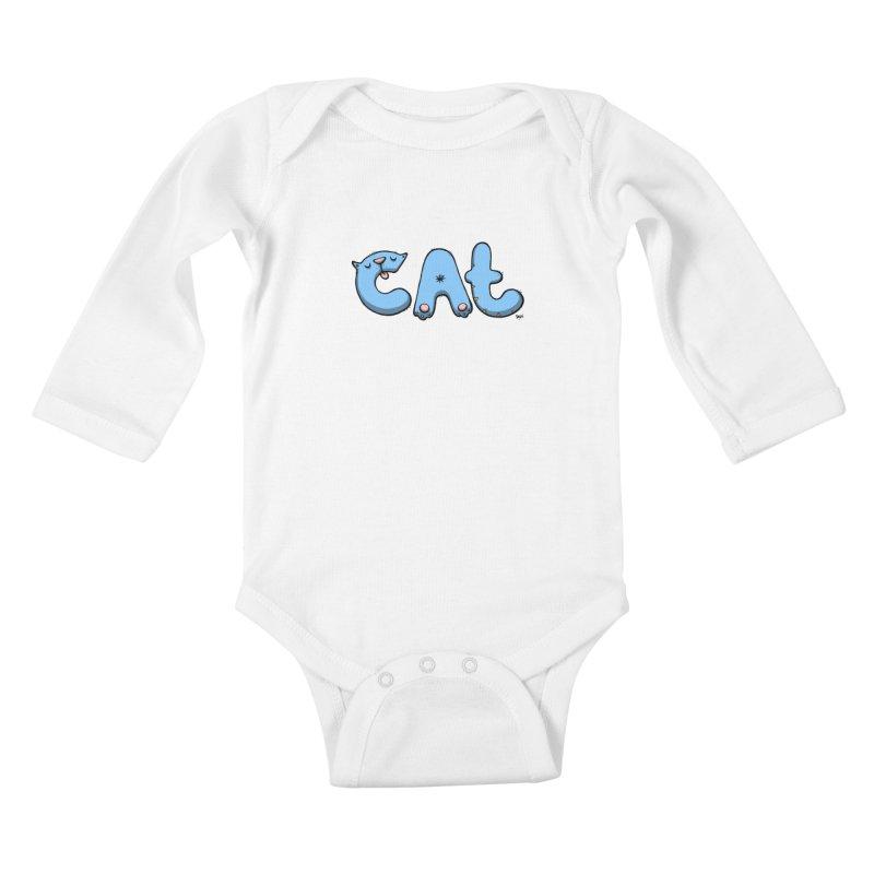 C.A.T. Kids Baby Longsleeve Bodysuit by Sadi Tekin's Shop