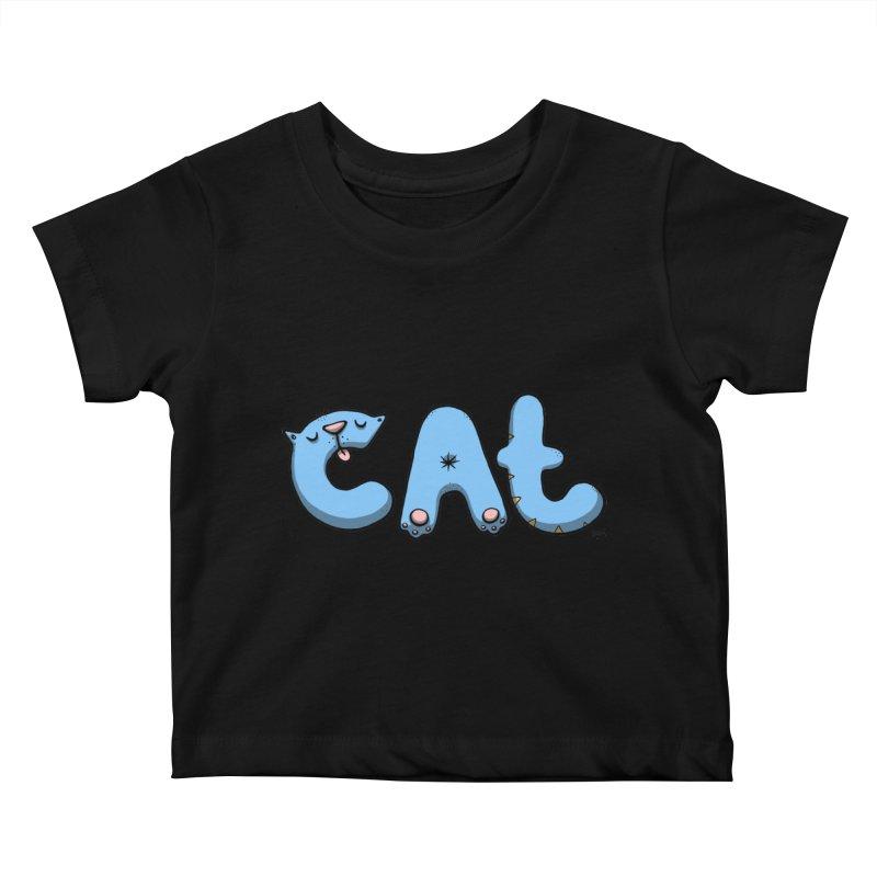 C.A.T. Kids Baby T-Shirt by Sadi Tekin's Shop