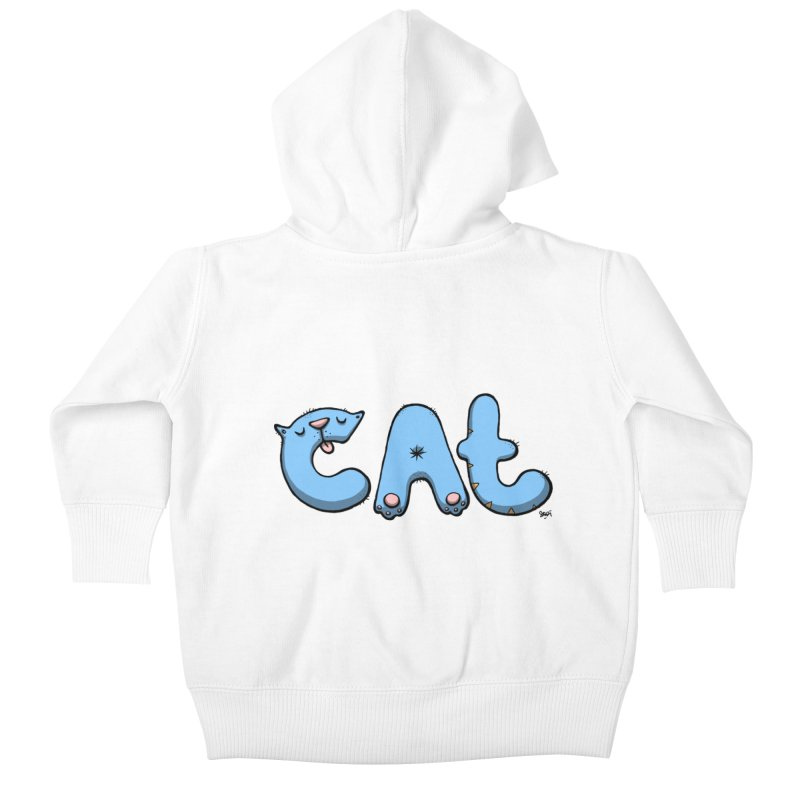 C.A.T. Kids Baby Zip-Up Hoody by Sadi Tekin's Shop