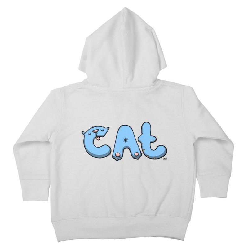 C.A.T. Kids Toddler Zip-Up Hoody by Sadi Tekin's Shop