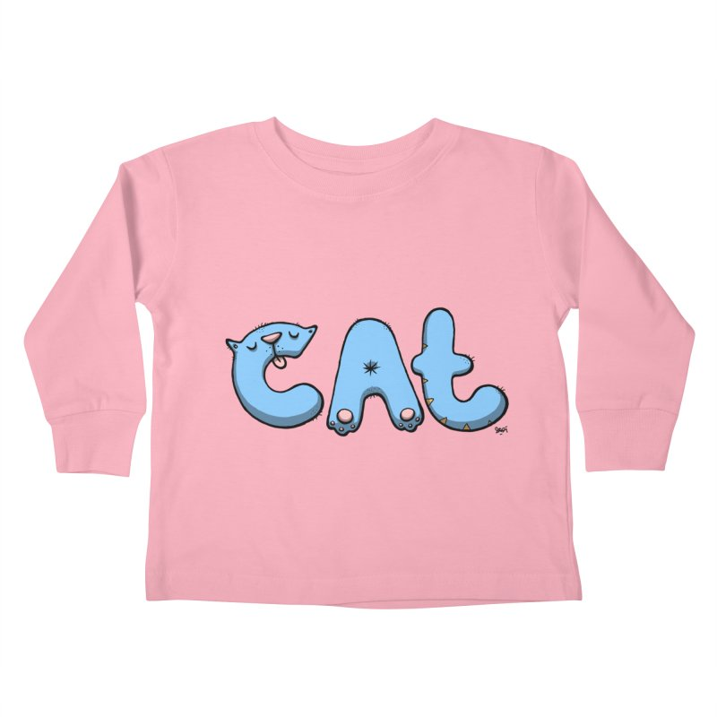 C.A.T. Kids Toddler Longsleeve T-Shirt by Sadi Tekin's Shop