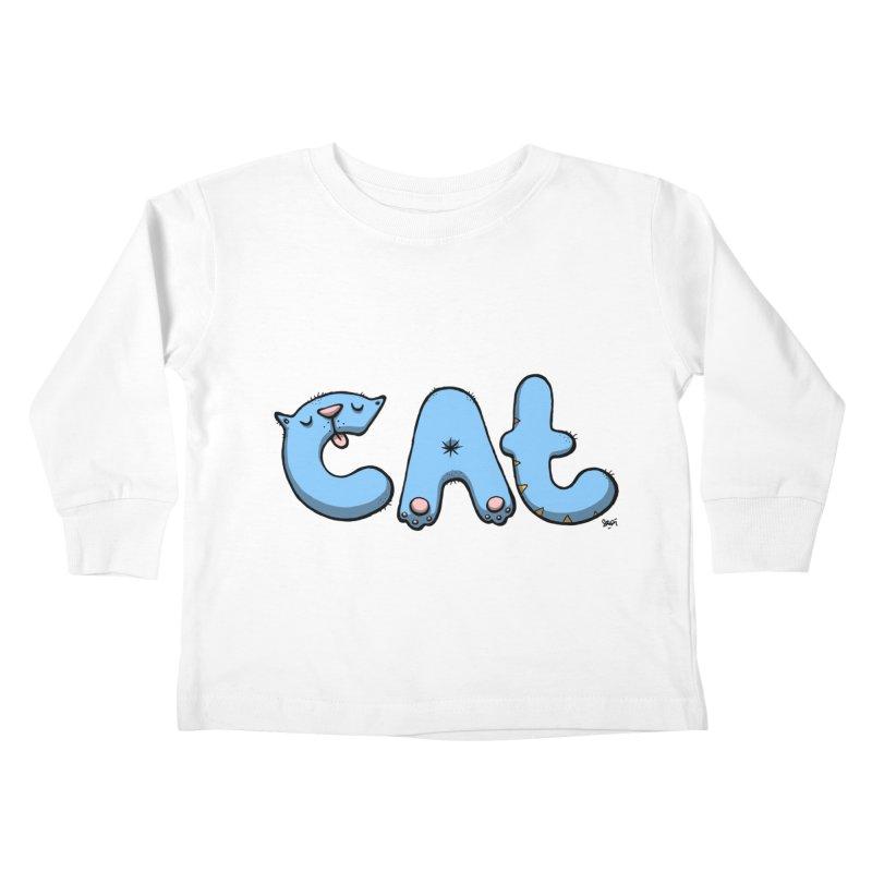 C.A.T. Kids Toddler Longsleeve T-Shirt by Sadi Tekin's Shop