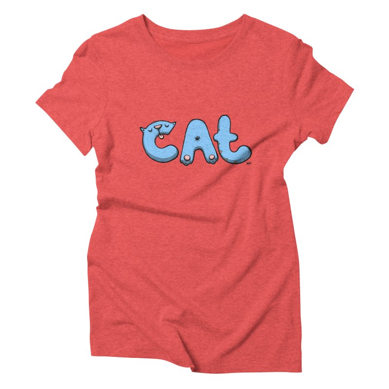 C.A.T. Women's Triblend T-Shirt by Sadi Tekin's Shop