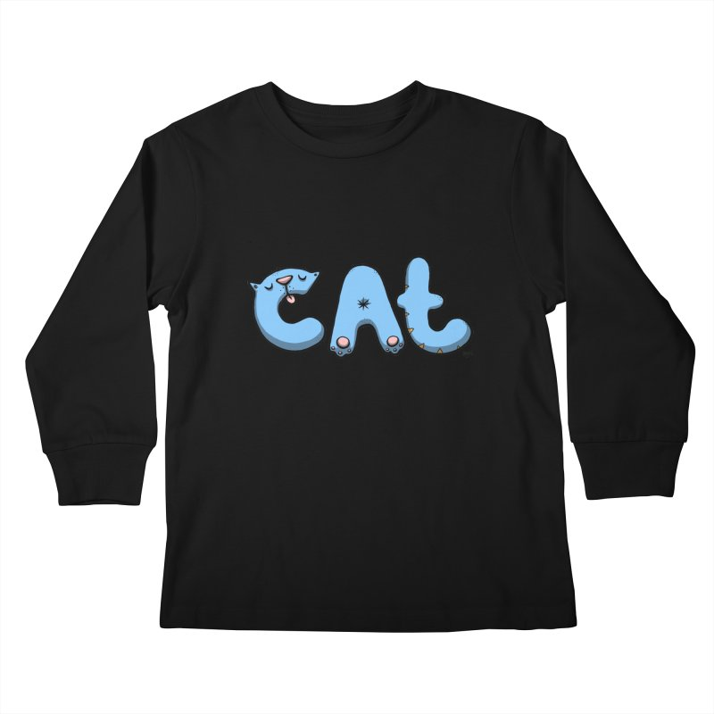 C.A.T. Kids Longsleeve T-Shirt by Sadi Tekin's Shop