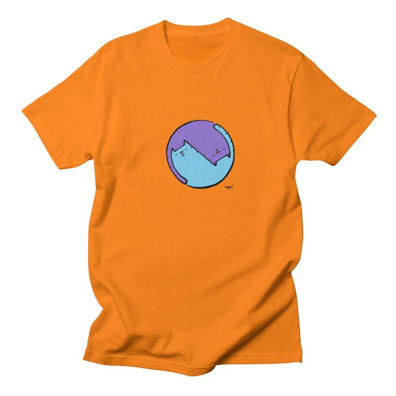 Yin Yang Meow Men's Regular T-Shirt by Sadi Tekin's Shop