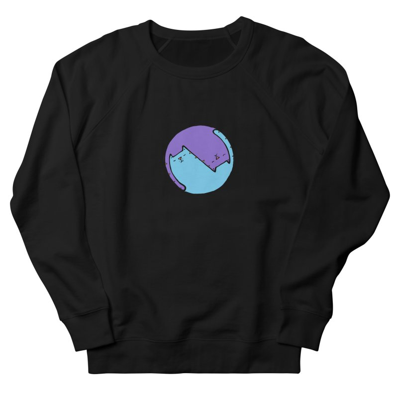 Yin Yang Meow Women's Sweatshirt by Sadi Tekin's Shop