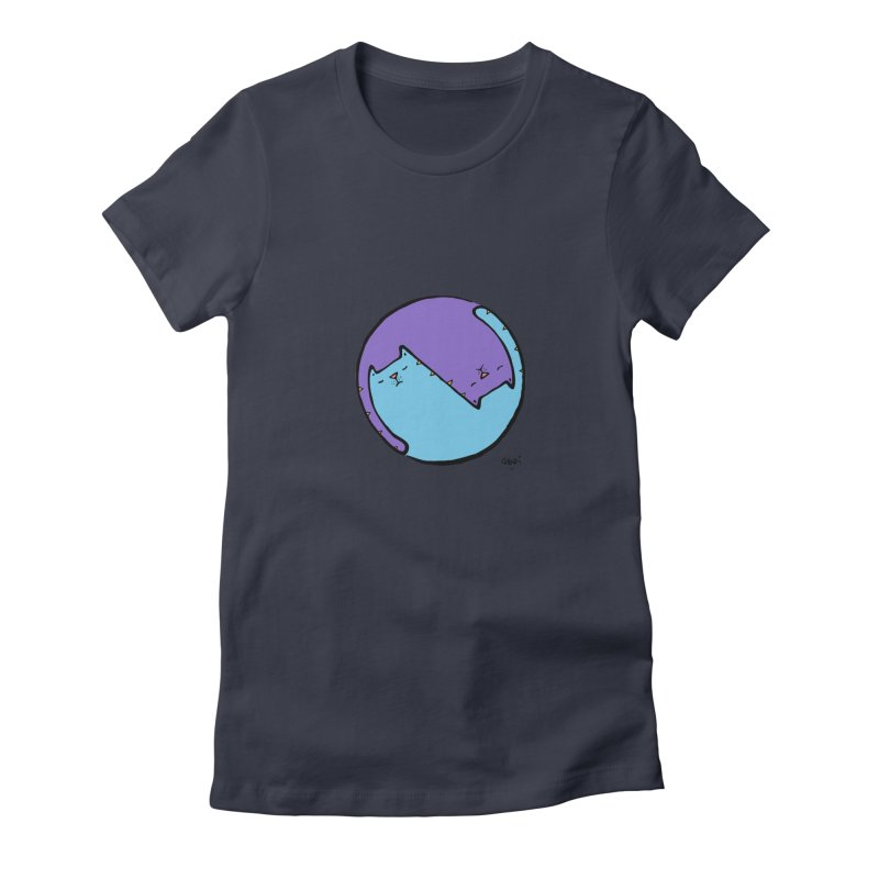 Yin Yang Meow Women's T-Shirt by Sadi Tekin's Shop
