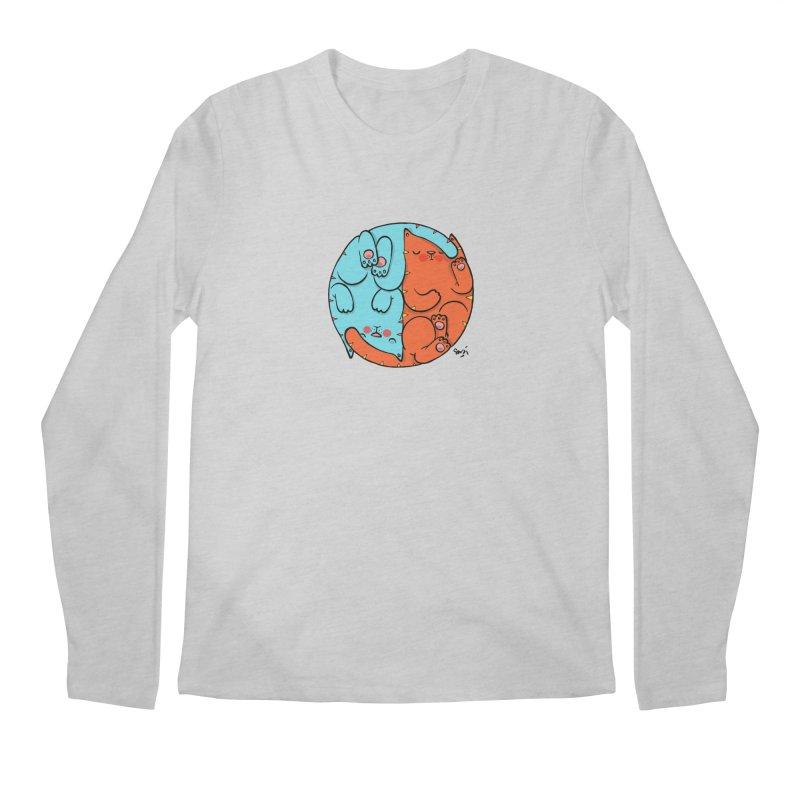 cat'n roll Men's Regular Longsleeve T-Shirt by Sadi Tekin's Shop
