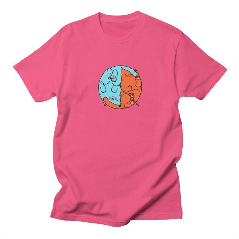 cat'n roll Men's Regular T-Shirt by Sadi Tekin's Shop