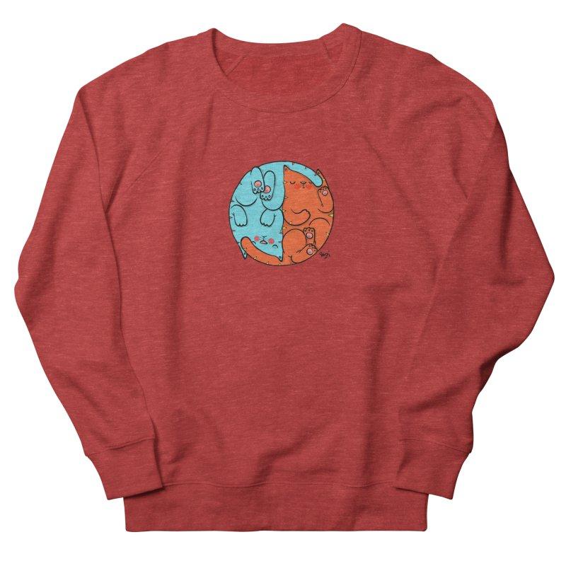 cat'n roll Men's French Terry Sweatshirt by Sadi Tekin's Shop