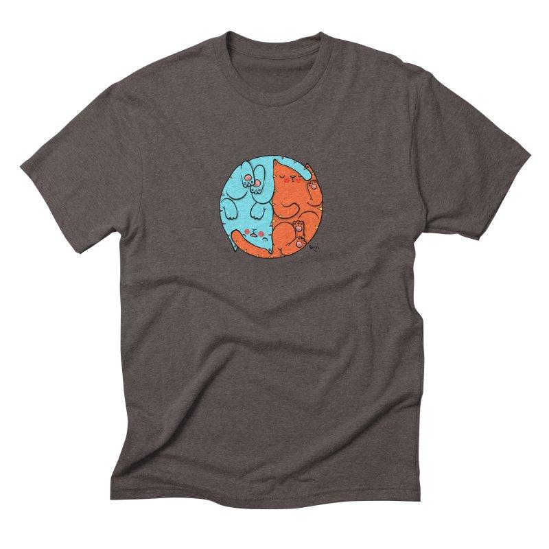 cat'n roll Men's Triblend T-Shirt by Sadi Tekin's Shop