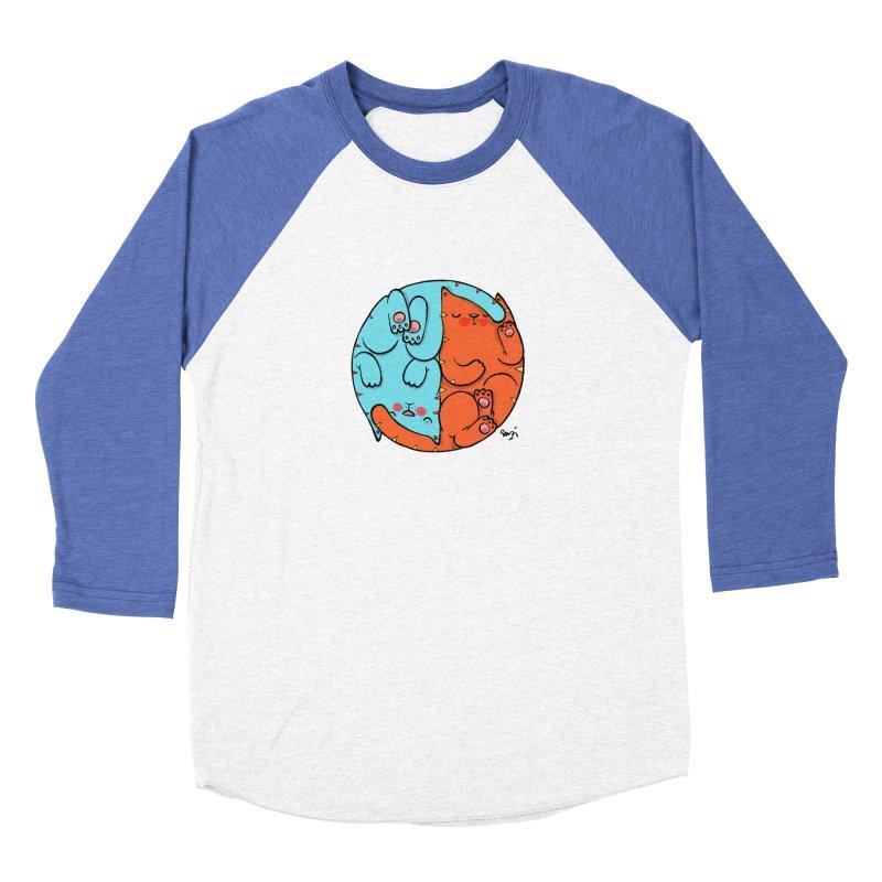 cat'n roll Women's Baseball Triblend Longsleeve T-Shirt by Sadi Tekin's Shop