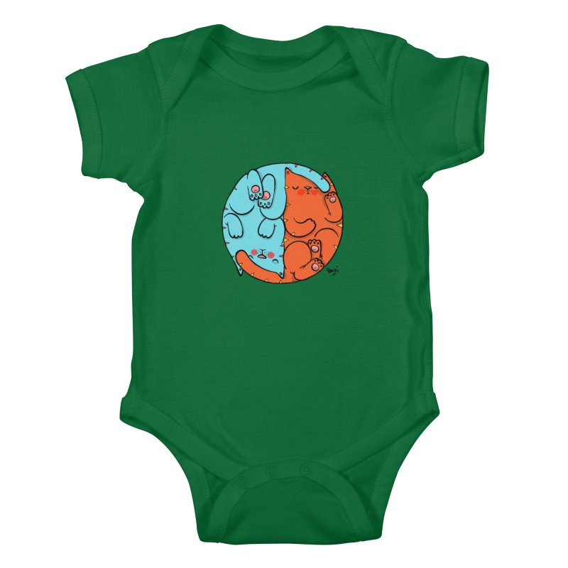 cat'n roll Kids Baby Bodysuit by Sadi Tekin's Shop