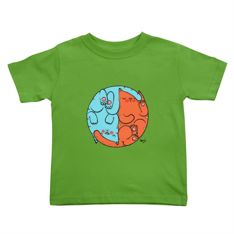 cat'n roll Kids Toddler T-Shirt by Sadi Tekin's Shop