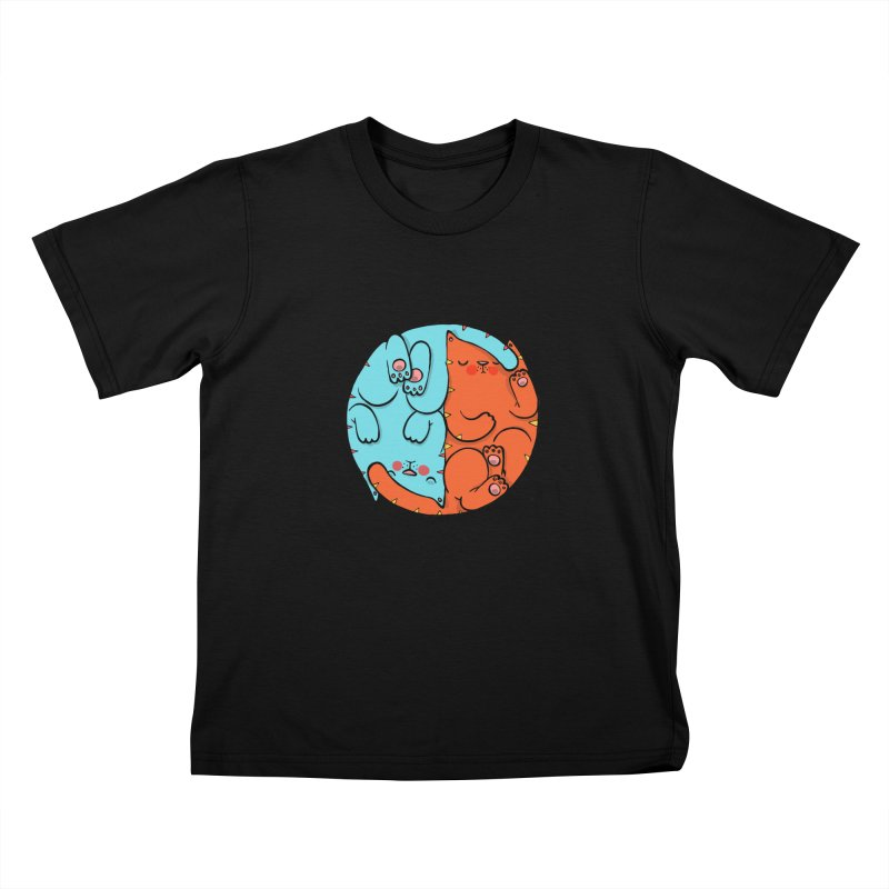 cat'n roll Kids T-Shirt by Sadi Tekin's Shop