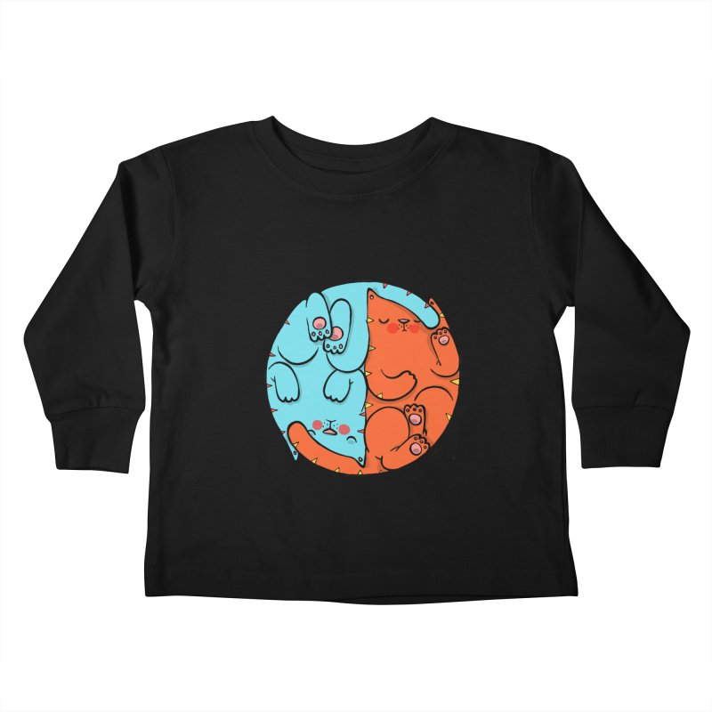 cat'n roll Kids Toddler Longsleeve T-Shirt by Sadi Tekin's Shop