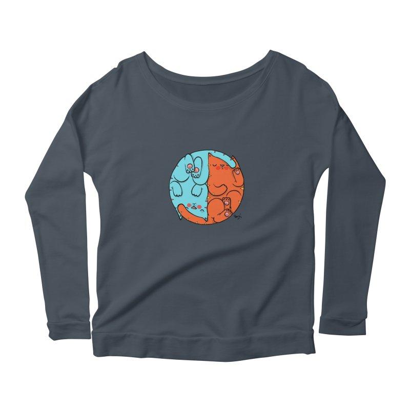cat'n roll Women's Longsleeve T-Shirt by Sadi Tekin's Shop