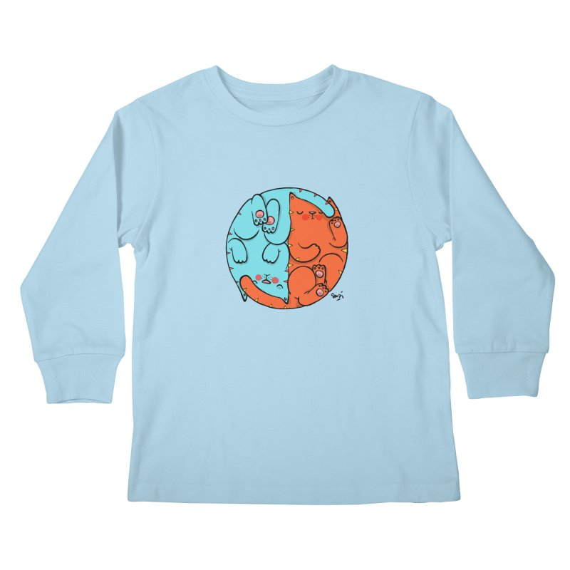 cat'n roll Kids Longsleeve T-Shirt by Sadi Tekin's Shop