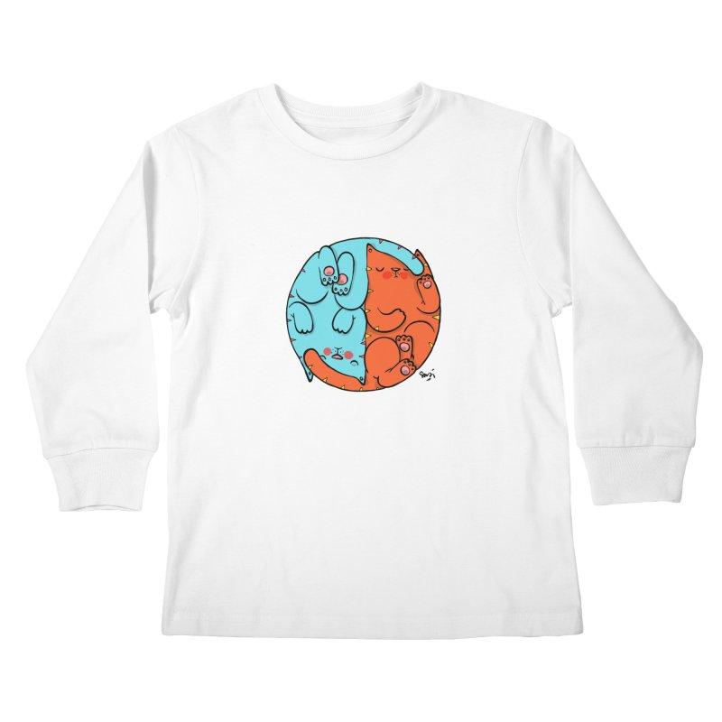 cat'n roll Kids Longsleeve T-Shirt by Sadi Tekin's Shop