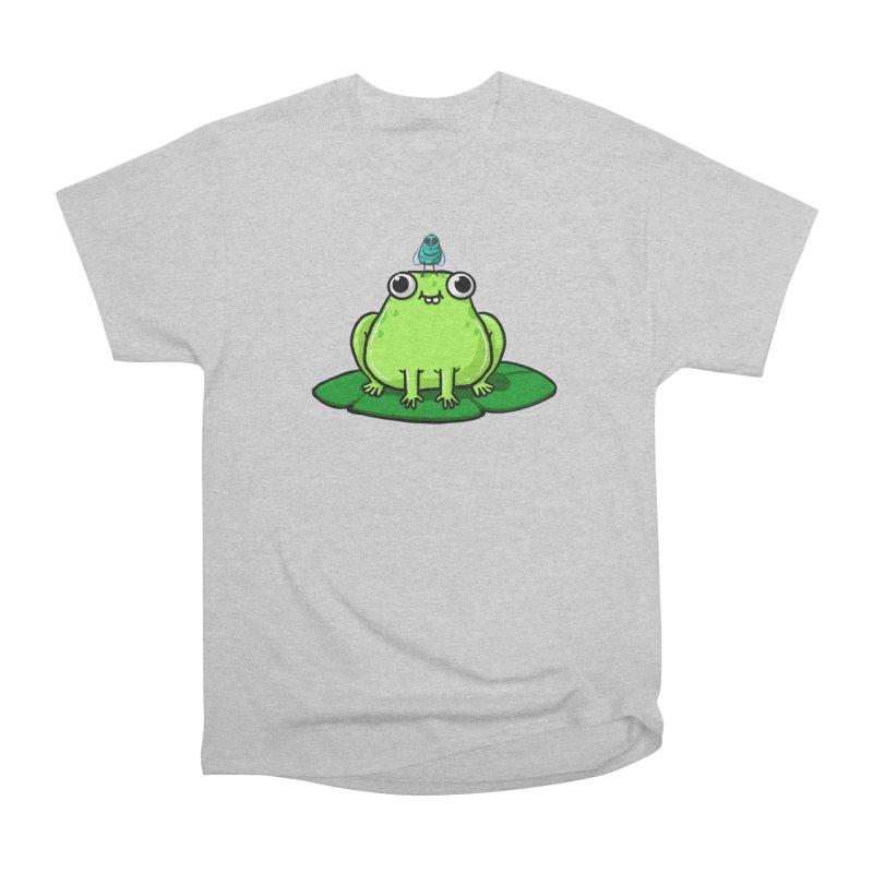 Frog n fly Men's T-Shirt by Sad Salesman's Shirts