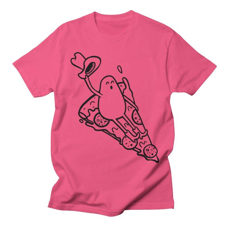 PIZZHAW! Men's T-Shirt by Sad Salesman's Shirts
