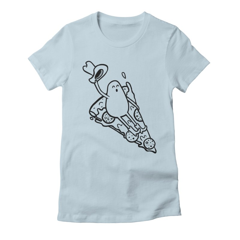 PIZZHAW! Women's T-Shirt by Sad Salesman's Shirts